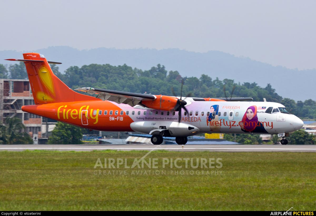 Firefly 9M-FIB aircraft at Subang - Sultan Abdul Aziz Shah