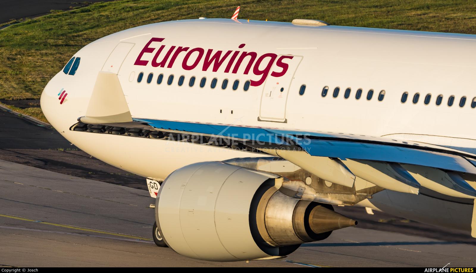 Eurowings D-AXGD aircraft at Cologne Bonn - Konrad Adenauer