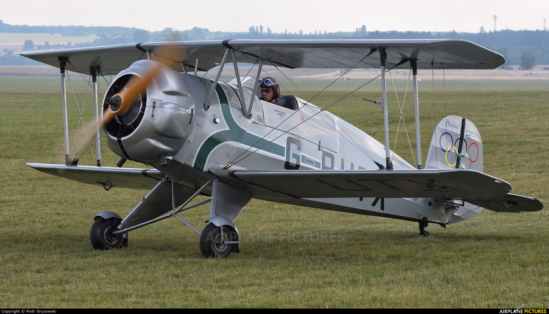 Private G-BUTX aircraft at Mladá Boleslav