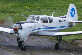 RA-0551G - Private Yakovlev Yak-18T