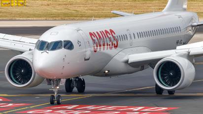 HB-JCL - Swiss Bombardier CS300