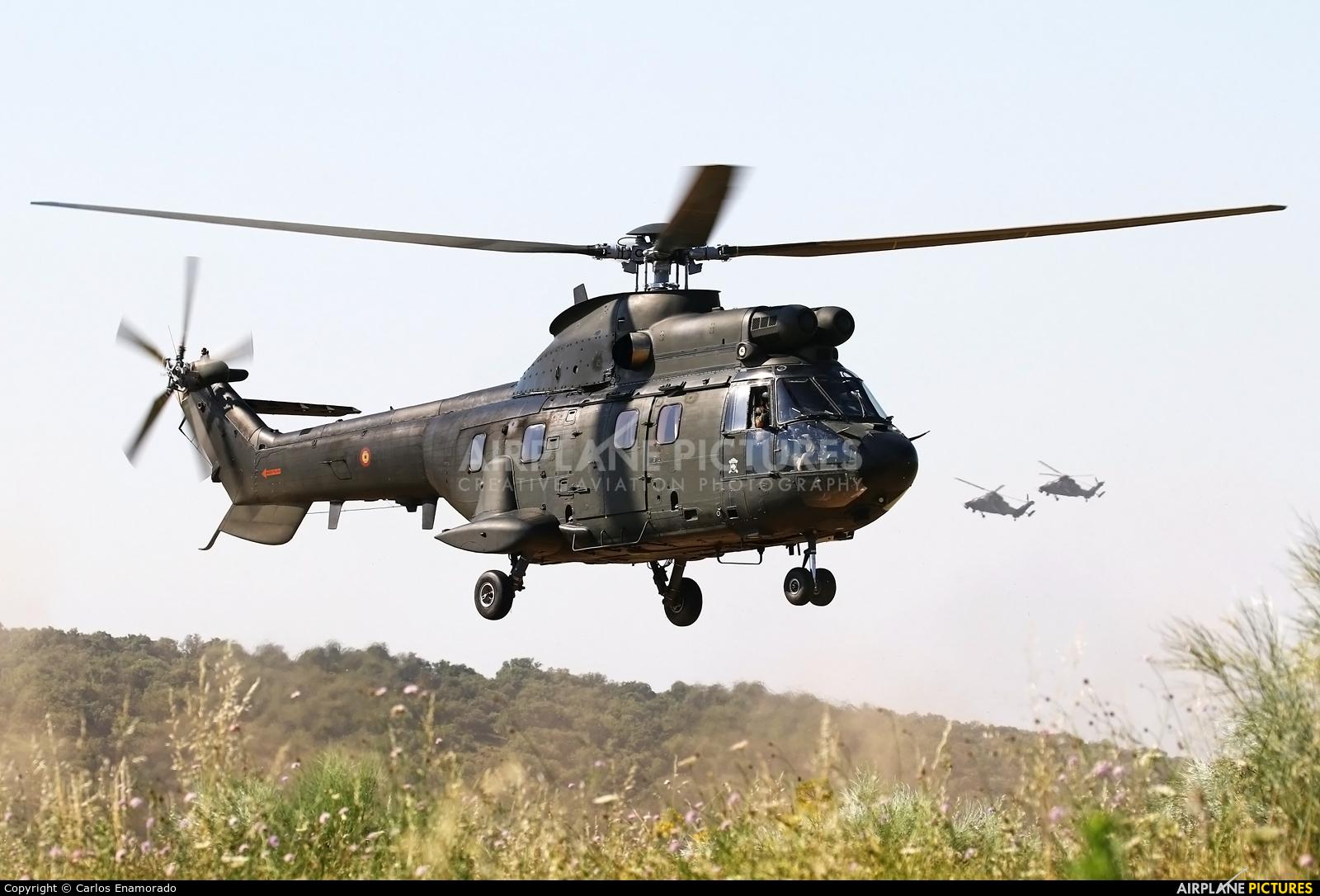 Spain - Army HU.21-08 / ET-502 aircraft at Colmenar Viejo