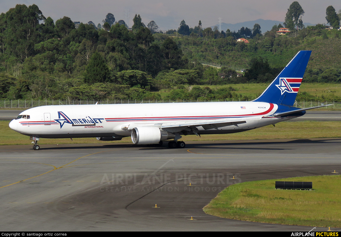 Amerijet International N319CM aircraft at Medellin - Jose Maria Cordova Intl