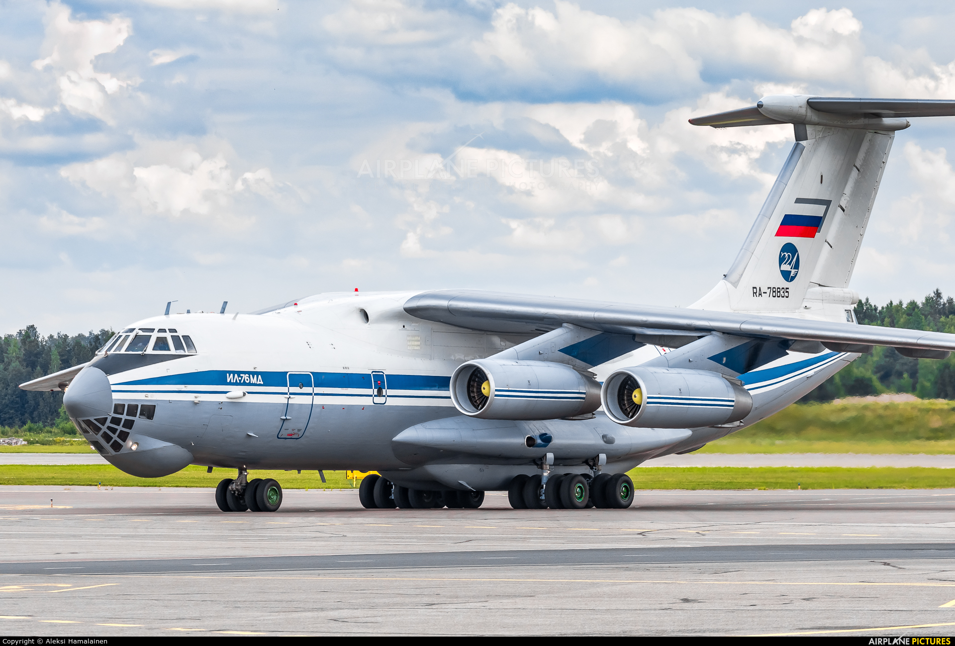 Russia - Air Force RA-78835 aircraft at Helsinki - Vantaa