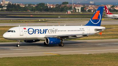 TC-OBU - Onur Air Airbus A320