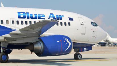 YR-AMB - Blue Air Boeing 737-500