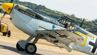 G-AWHK - Private Hispano Aviación HA-1112 Buchon