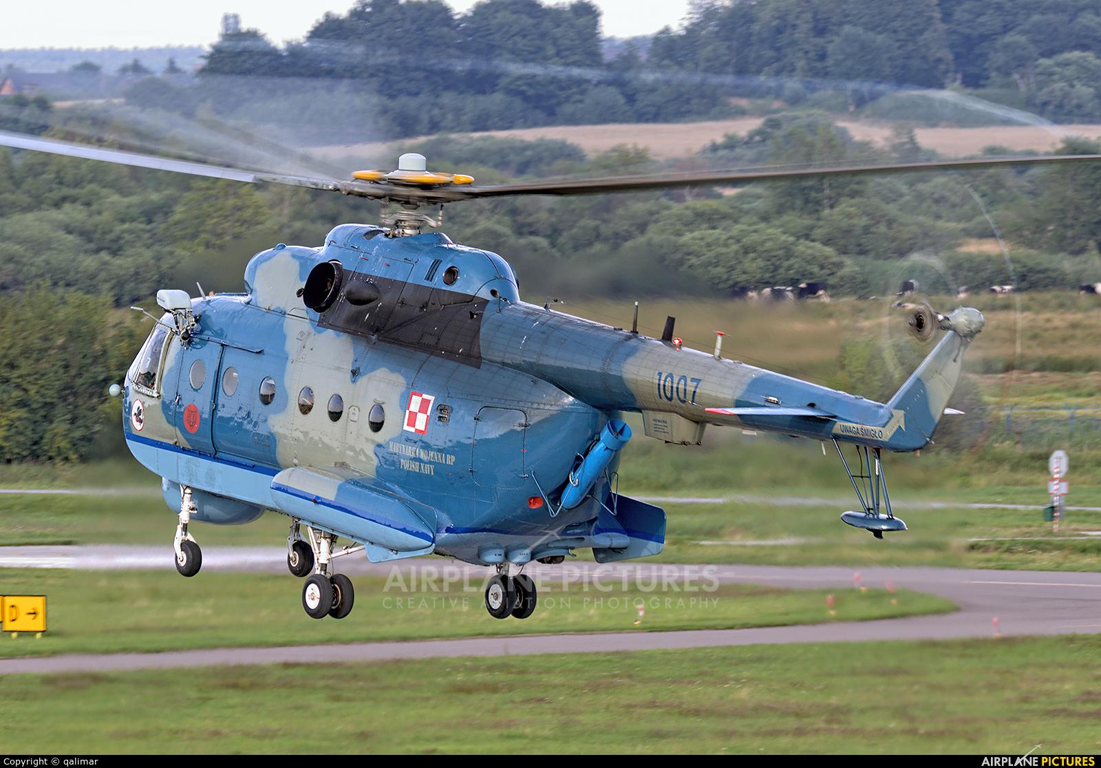 Poland - Navy 1007 aircraft at Darłowo