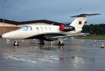 N95KL - Private Cessna 525 CitationJet M2