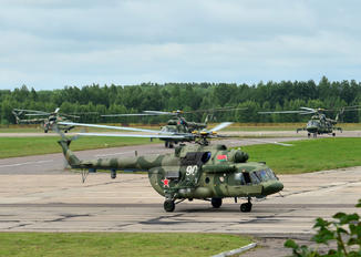 90 - Belarus - Air Force Mil Mi-8MTV-5