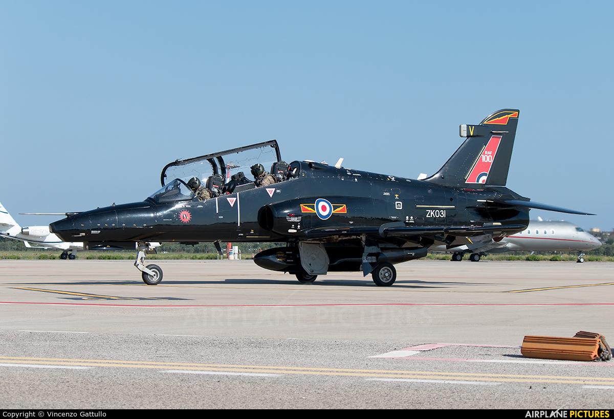 Royal Air Force ZK031 aircraft at Bari