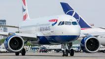 G-TTNB - British Airways Airbus A320 NEO aircraft