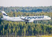 OH-LZN - Finnair Airbus A321 aircraft