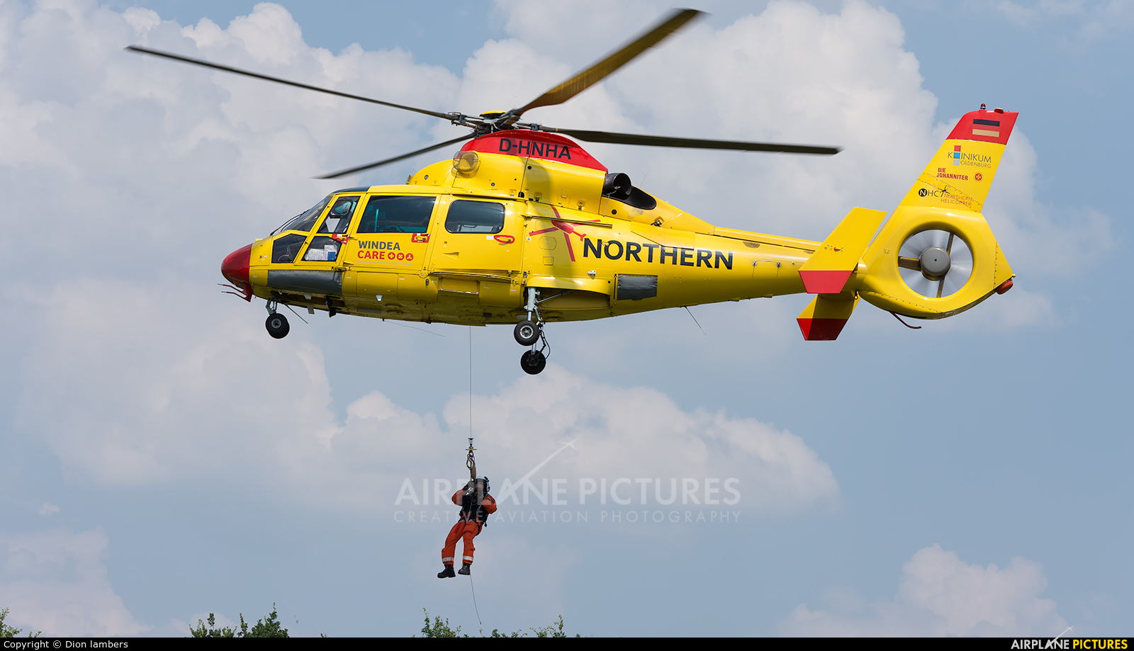 Northern Helicopters D HNHA Aircraft At Heli Port Emmen