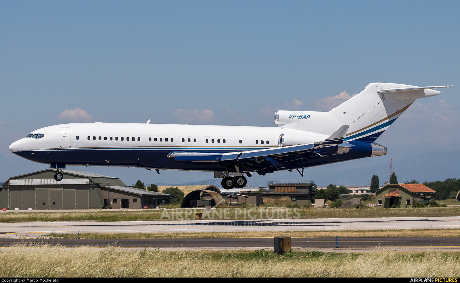 Private VP-BAP aircraft at Verona - Villafranca