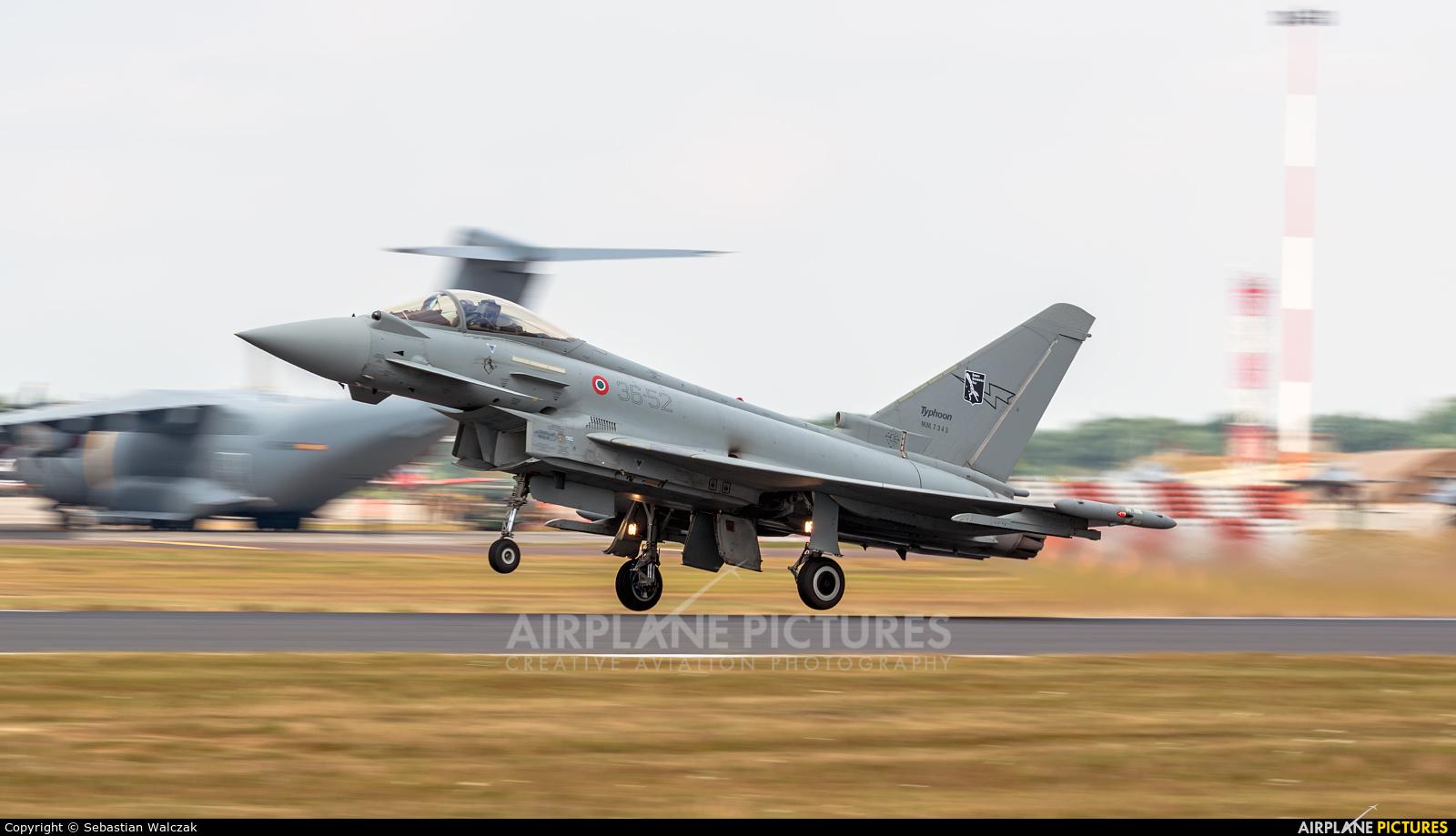 Italy - Air Force MM7343 aircraft at Fairford