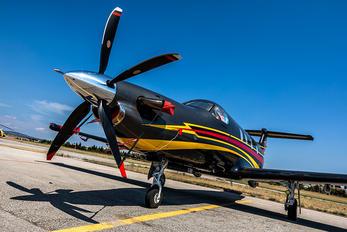 N1677 - Private Pilatus PC-12
