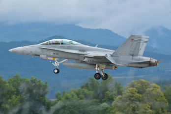 HN-466 - Finland - Air Force McDonnell Douglas F-18D Hornet