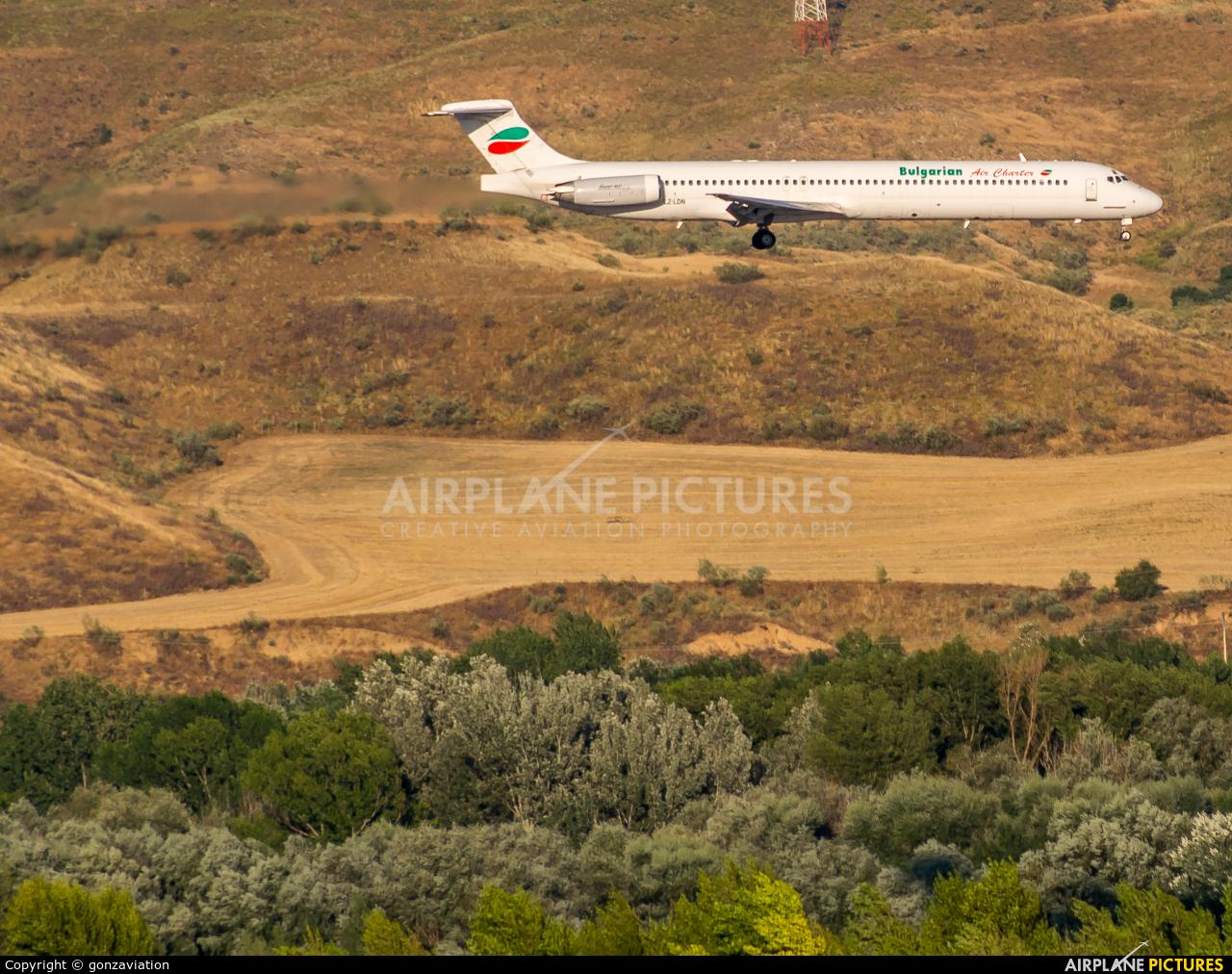 Bulgarian Air Charter LZ-LDN aircraft at Madrid - Barajas
