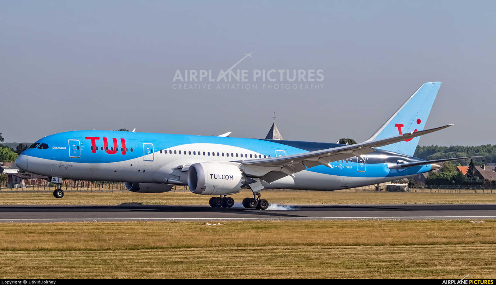 TUI Airlines Belgium OO-JDL aircraft at Brussels - Zaventem