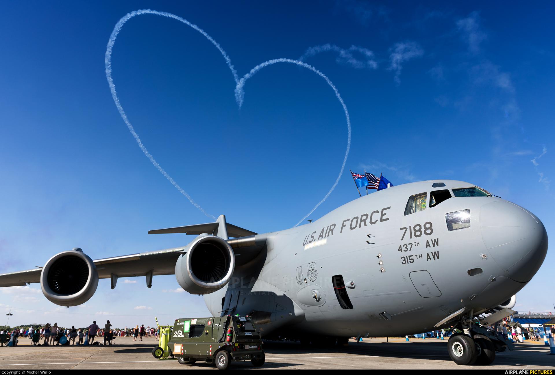 USA - Air Force 07-7188 aircraft at Fairford