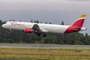 EC-JEJ - Iberia Express Airbus A321 aircraft