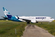 New Boeing 737-8 MAX for WestJet title=