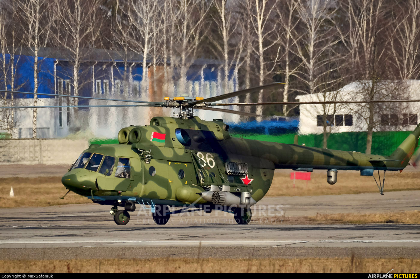 Belarus - Air Force 86 WHITE aircraft at Undisclosed Location
