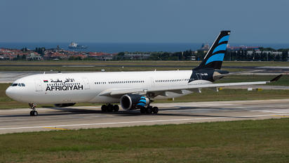 5A-ONR - Afriqiyah Airways Airbus A330-300