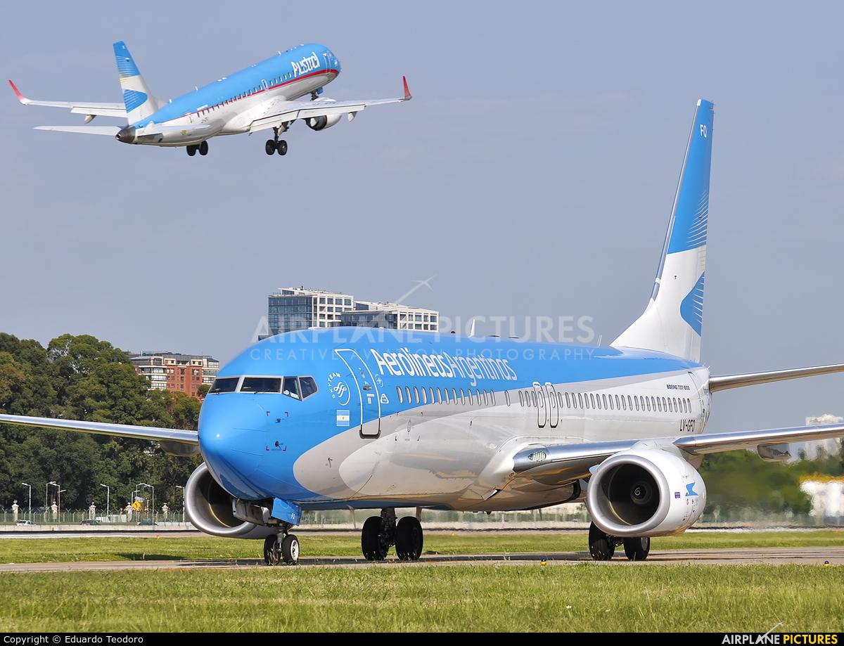 Aerolineas Argentinas LV-GFQ aircraft at Buenos Aires - Jorge Newbery