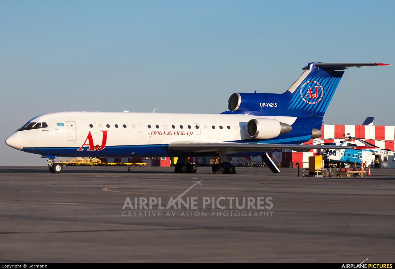 UP-Y4215 aircraft at Kazan