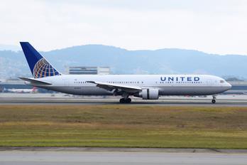 N648UA - United Airlines Boeing 767-300ER