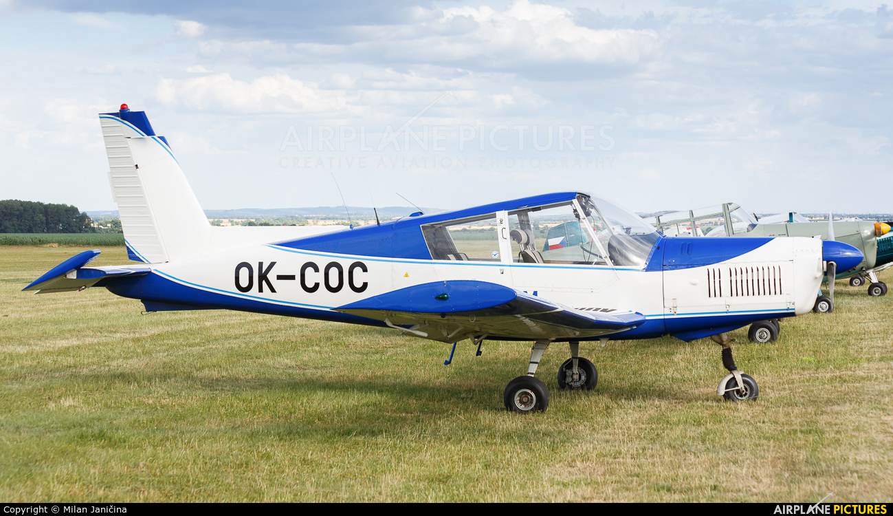 Aeroklub Tábor OK-COC aircraft at Trnava- Boleráz