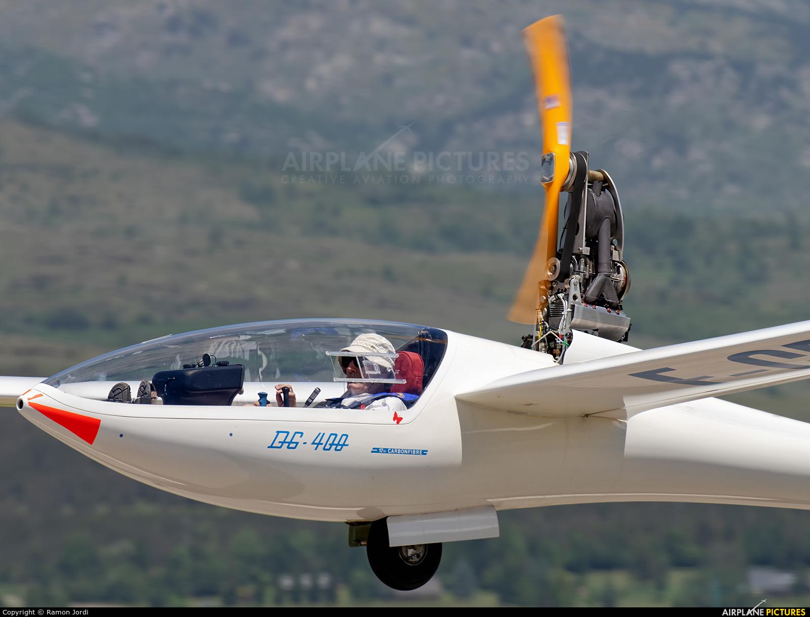 Private F-CPIN aircraft at La Cerdanya