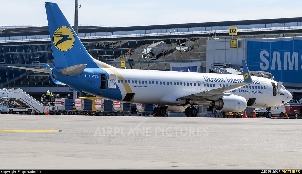 Ukraine International Airlines UR-PSB aircraft at Kyiv - Borispol