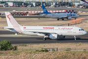 TS-IMV - Tunisair Airbus A320 aircraft
