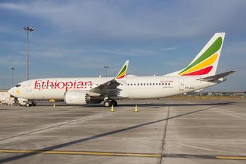 ET-AVM - Ethiopian Airlines Boeing 737-8 MAX