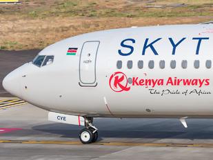5Y-CYE - Kenya Airways Boeing 737-800