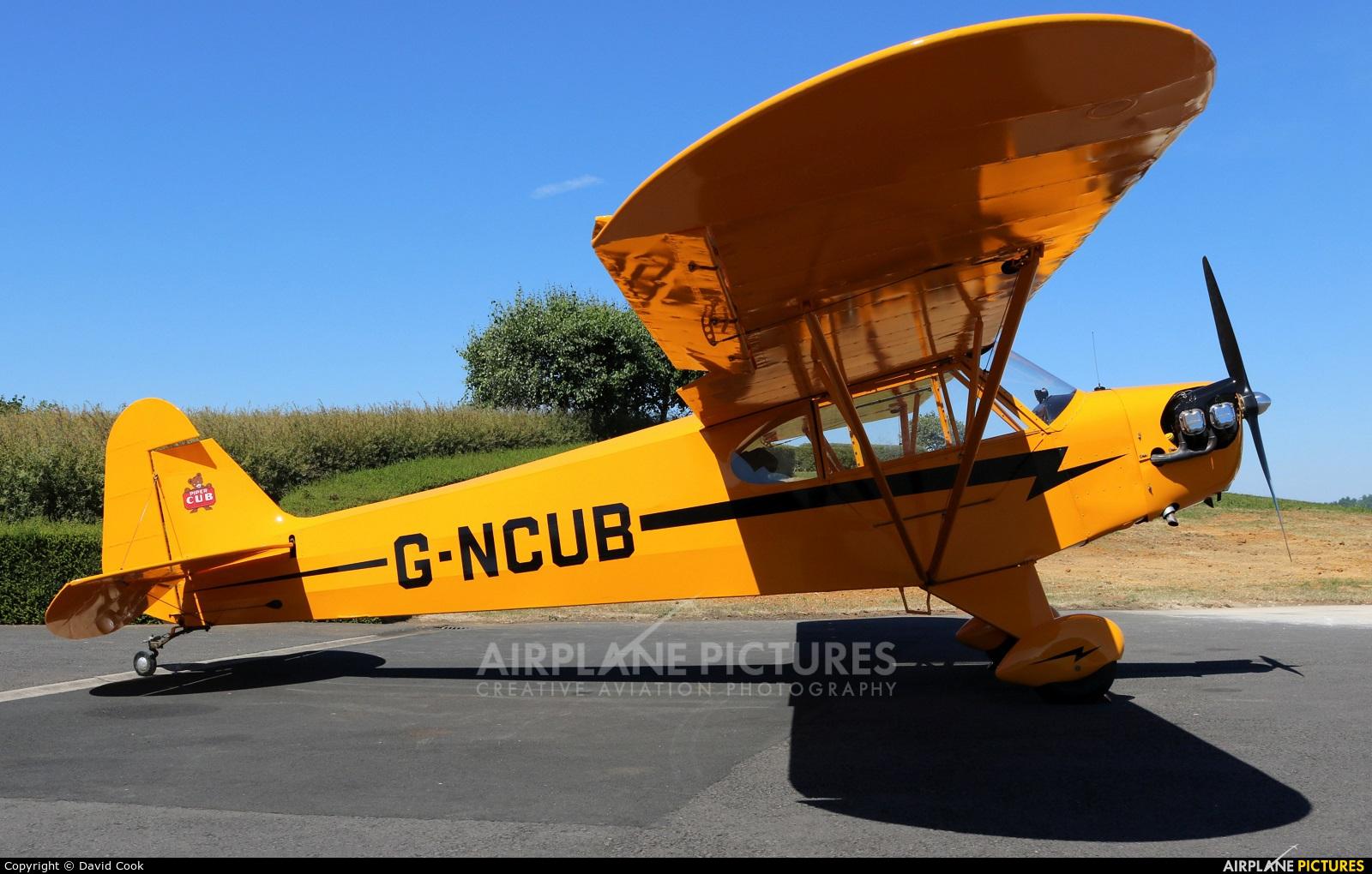 Private G-NCUB aircraft at Turweston