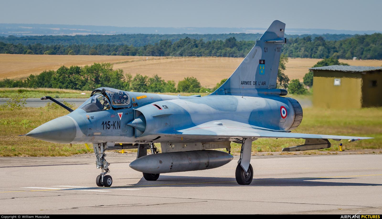 France - Air Force 121 aircraft at Nancy - Ochey AB