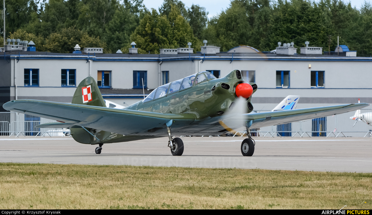 Museum of Polish Aviation SP-YYY aircraft at Świdwin