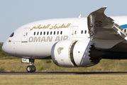 A4O-SA - Oman Air Boeing 787-8 Dreamliner aircraft