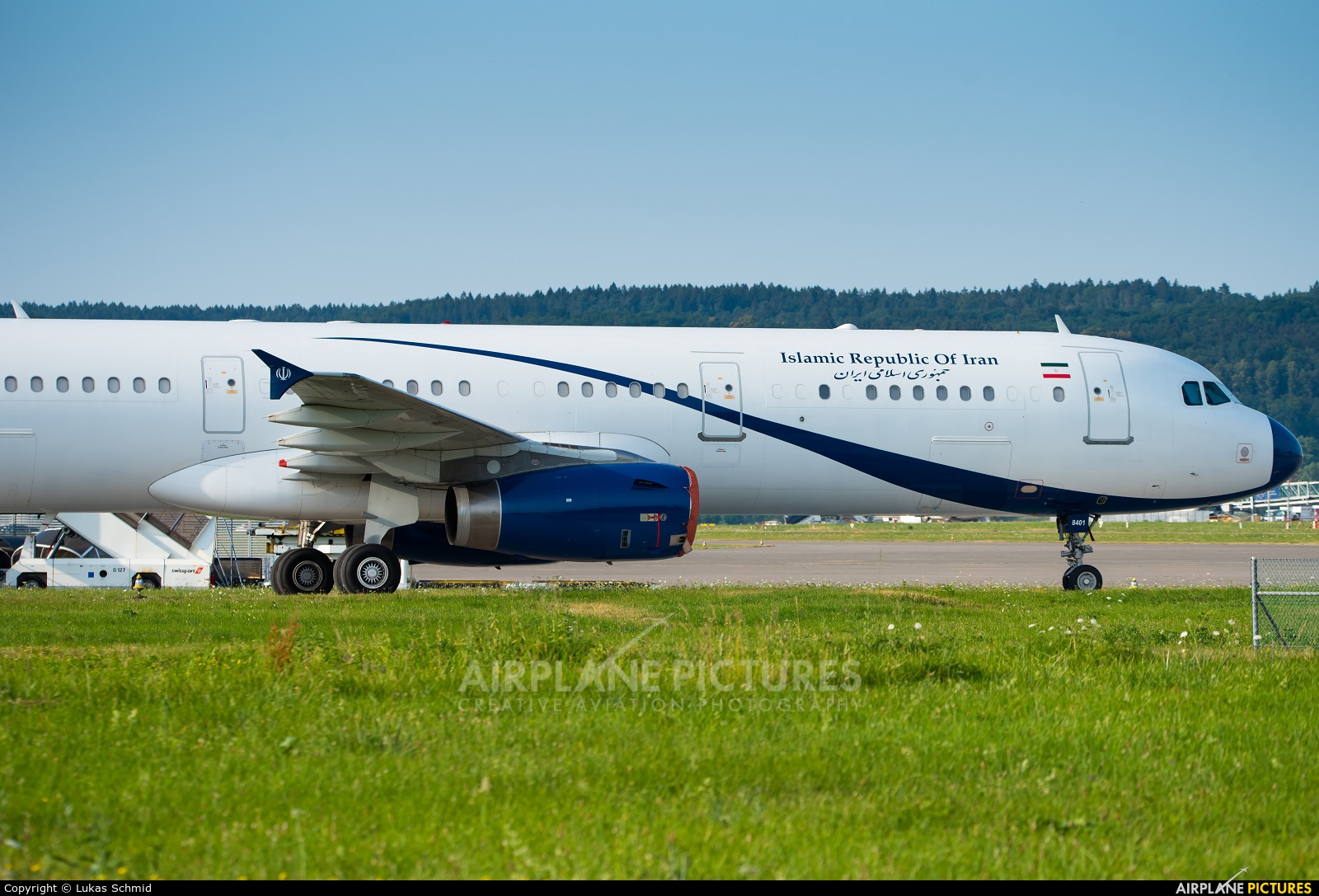 Iran - Government EP-IGD aircraft at Zurich