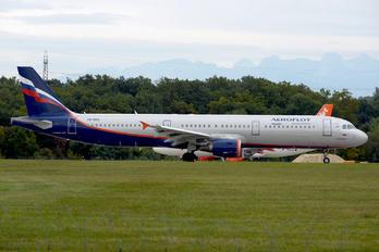 VQ-BOH - Aeroflot Airbus A321