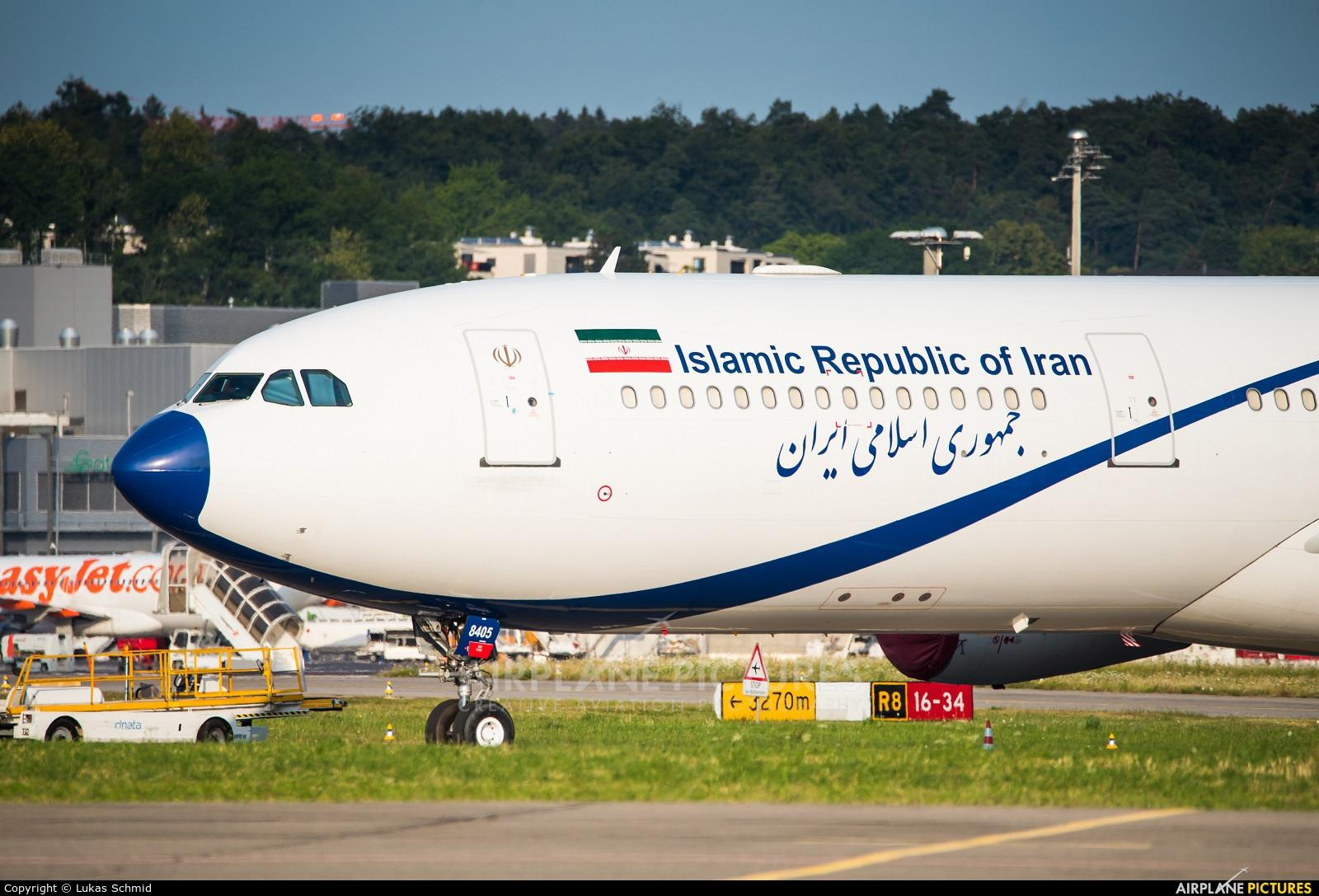 Iran - Government EP-IGA aircraft at Zurich