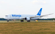 Rare visit of Air Europa Boeing 787-9 to Krasnodar title=