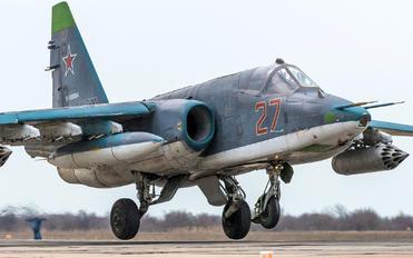 RF-93884 - Russia - Air Force Sukhoi Su-25SM