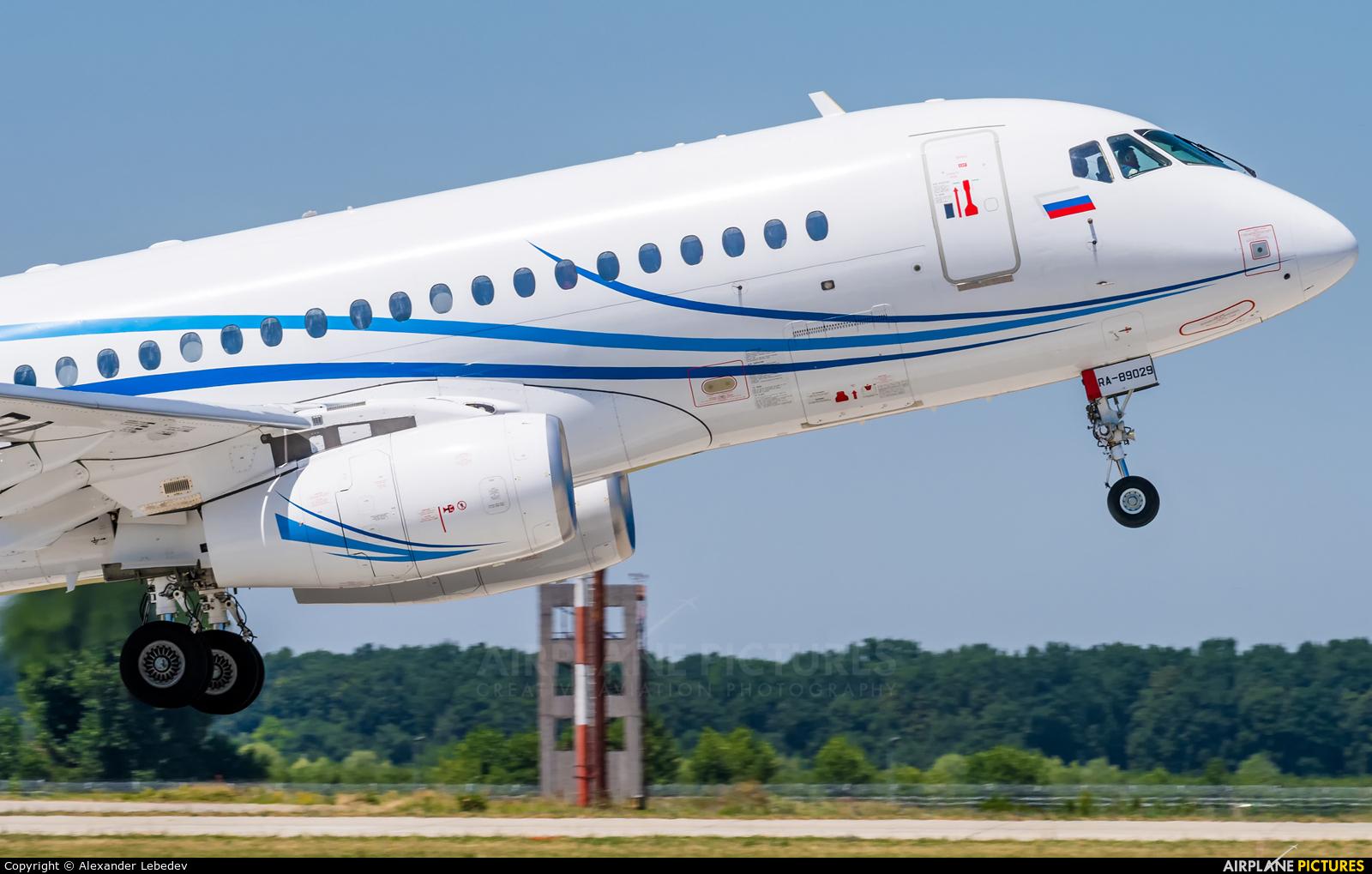 Gazpromavia RA-89029 aircraft at Krasnodar