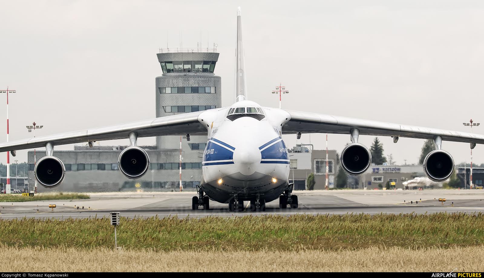 Volga Dnepr Airlines RA-82046 aircraft at Rzeszów-Jasionka