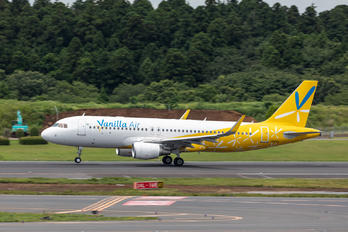 JA12VA - Vanilla Air Airbus A320